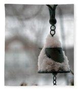 Snowy Bell Fleece Blanket