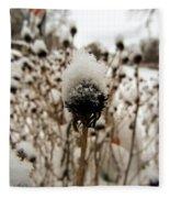 Snowy Cap Fleece Blanket