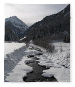 Snowy Creek Fleece Blanket