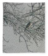 Snowy Day Fleece Blanket