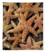 So Many Starfish Fleece Blanket