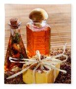 Soap And Fragrance Oils Fleece Blanket