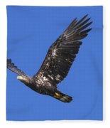 Soar Like An Eagle Fleece Blanket