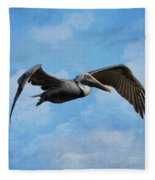 Soaring By Fleece Blanket