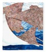 Soaring Eagle Rays Fleece Blanket