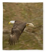 Soaring Over  Fleece Blanket