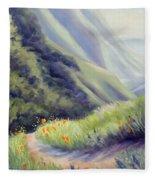 Soberanes Canyon  Fleece Blanket