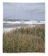 Socked By Sandy II Fleece Blanket