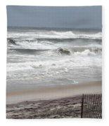 Socked By Sandy Fleece Blanket