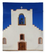 Socorro Mission La Purisima Texas Fleece Blanket