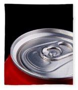 Soda Can Fleece Blanket