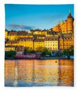 Sodermalm Skyline Fleece Blanket