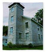 Sodus Point Lighthouse Fleece Blanket
