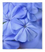 Soft Blue Fleece Blanket