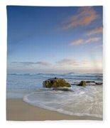 Soft Blue Skies Fleece Blanket