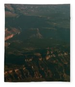 Soft Early Morning Light Over The Grand Canyon 2 Fleece Blanket