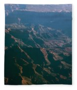 Soft Early Morning Light Over The Grand Canyon 4 Fleece Blanket