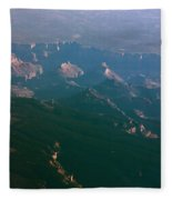 Soft Early Morning Light Over The Grand Canyon 5 Fleece Blanket
