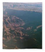 Soft Early Morning Light Over The Grand Canyon Fleece Blanket