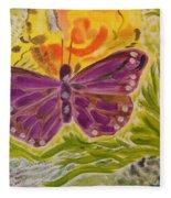 Soft Flutters Fleece Blanket
