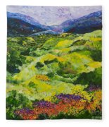Soft Grass Fleece Blanket