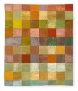 Soft Palette Rustic Wood Series Lll Fleece Blanket