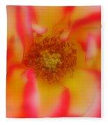 Soft Rose Fleece Blanket