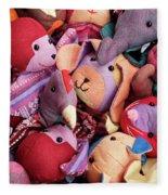 Soft Toys 02 Fleece Blanket