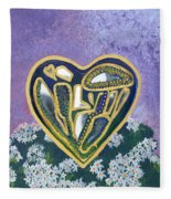 Softened Heart Best Reflections Energy Collection Fleece Blanket