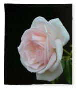 Softly Pink - Rose Fleece Blanket