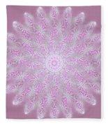 Softly Purple Fleece Blanket
