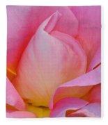 Softness In Pink Fleece Blanket