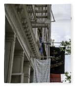 Soho 2 - Nyc Fleece Blanket