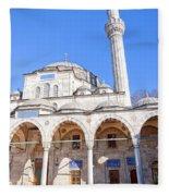 sokullu pasa camii Mosque 03 Fleece Blanket