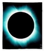 Solar Corona Fleece Blanket
