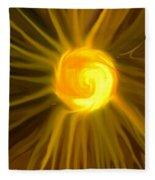 Solar Energy Fleece Blanket