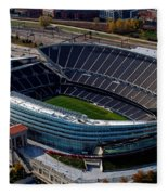 Soldier Field Chicago Sports 06 Fleece Blanket