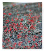 Soldiers At Attention Fleece Blanket