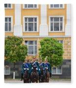 Soldiers Of The Presidential Regimental Fleece Blanket
