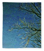Solemn Sky Fleece Blanket