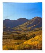 Solider Mountain Shadows Fleece Blanket