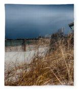 Solitude On The Cape Fleece Blanket