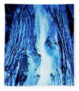 Solo Blue Fleece Blanket