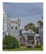 Solomon's Castle Ona Florida Fleece Blanket