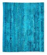 Some Call It Rain Original Painting Fleece Blanket
