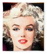 Marilyn - Some Like It Hot Fleece Blanket