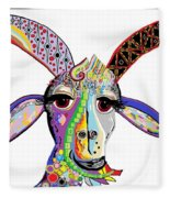 Somebody Got Your Goat? Fleece Blanket