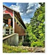Somerset Glessner Bridge Fleece Blanket