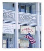 Somerset Square 1 Fleece Blanket