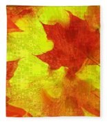 Something Like Autumn Fleece Blanket